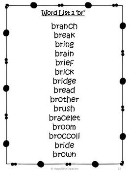 Word Work - Blends