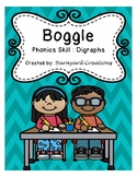 Word Work: Boggle Board Worksheets (Digraphs)
