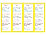 Word Work Bookmarks