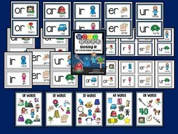 Word Work: Bossy R (R-Controlled Vowels)