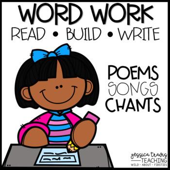 Word Work: Build, Read, & Write!