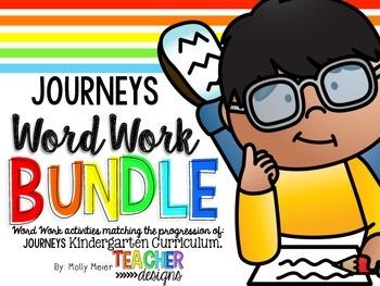 Word Work Bundle (following Journeys)