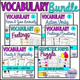 Word Work Bundle 2: Animals, fruits, vegetable, feelings,