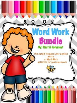 Word Work Bundle