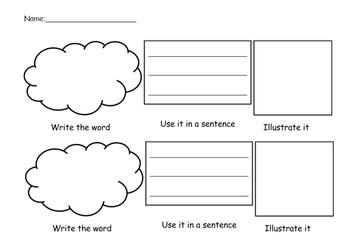 Word Work Bundle Free