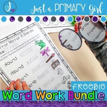 Word Work Bundle Freebie
