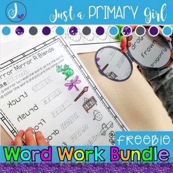 Word Work Bundle Freebie