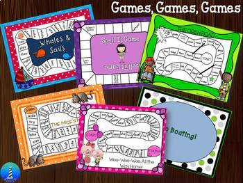 Word Work Bundle: Long Vowels Games and Practice