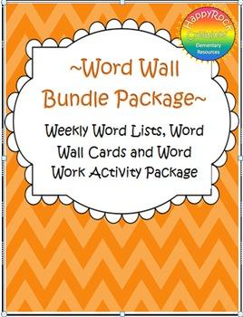 Word Work + Word Wall