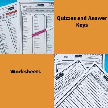Word Work Bundle for Upper Grades