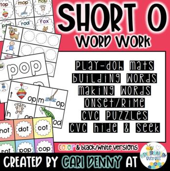 Word Work Bundle (short o)