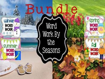 Seasons Word Work