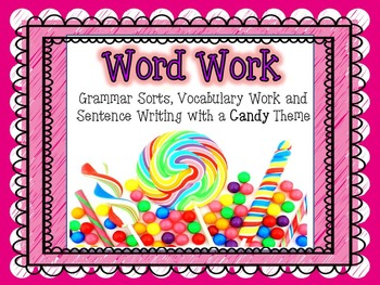 Word Work - CANDY