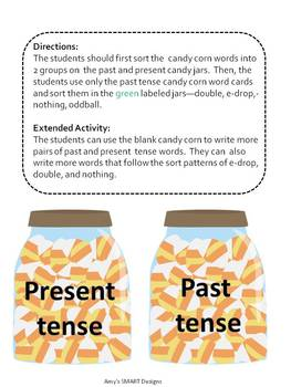 Word Work: Candy Corn Word Sort