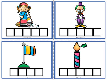 Word Work Cards: Blends