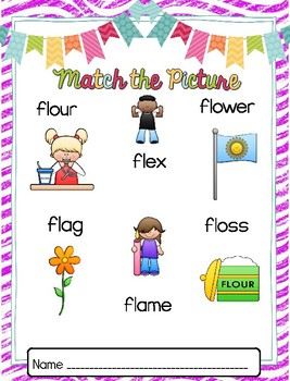 Word Work: Center Activities - Beginning Blend FL
