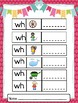 Word Work: Center Activities - Beginning Digraph WH
