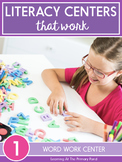 Word Work Center Activities for First Grade
