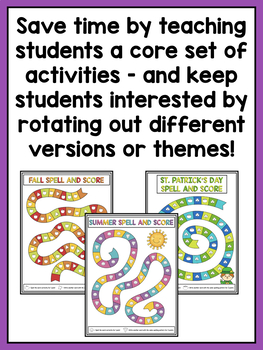 Word Work Center Activities for Second Grade