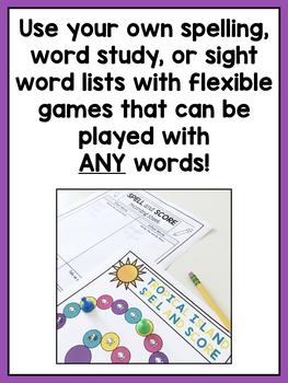Word Work Center Activities for Second Grade