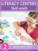 Word Work Activities for Second Grade (for Centers or D5)