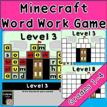 Castle Word Work Game
