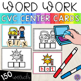 Word Work Cards: CVC