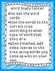 Word Work Center: Compound Words, Contractions, Abbreviations