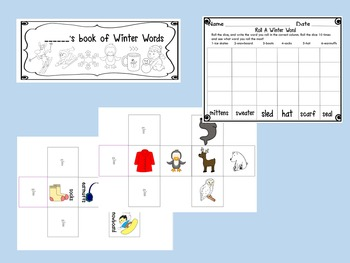 Word Work Center for January