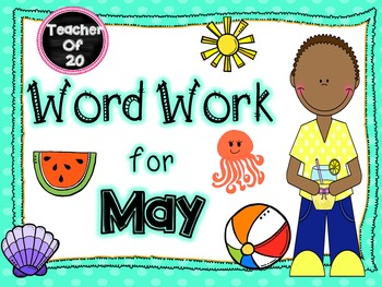 Word Work Center for May