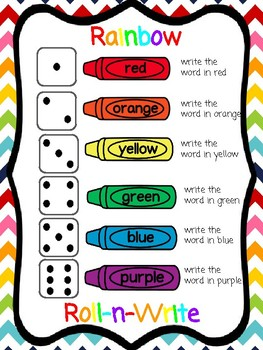 Word Work Centers