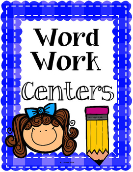 Word Work Centers {Activities for Spelling Words}