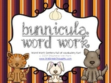 Word Work Centers: Bunnicula