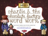 Word Work Centers: Charlie & The Chocolate Factory