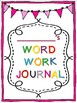 Word Work Centers For The Year