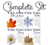 Word Work Centers: Four Seasons {BUNDLE}