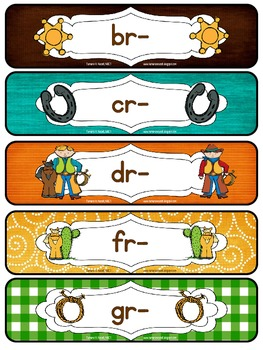 Word Work Centers: Initial R Blends