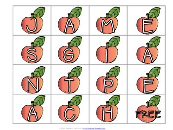 Word Work Centers: James & The Giant Peach