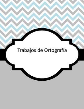 Word Work Centers (Spanish) Spelling Center Centro de Ortografia