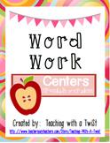 Word Work Centers:  Spanish Version (5)