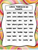 Word Work Centers:  Spanish Version (5)