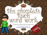 Word Work Centers: The Chocolate Touch