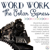 Word Work Centers: The Polar Express