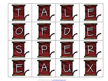 Word Work Centers: The Tale of Despereaux