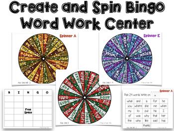 Sight Word Bingo and Phonics Bingo Bundle