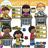 Word Work Clip Art