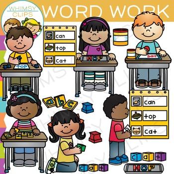 Word Work Clip Art