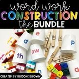 Word Work Construction BUNDLE