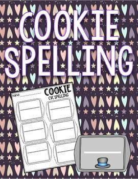 Cookie CVC & CVCe Spelling