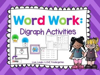 Word Work: Digraph Actvities